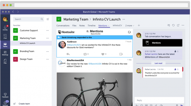 4 Ways Hootsuite and Microsoft Teams Improve Workflow Productivity | Hootsuite Blog