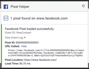 ES: El último paso para verificar que tu píxel de Facebook esté funcionando bien involucra un poco más de código HTML