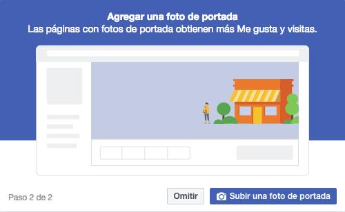 Página de facebook - Agrega una foto de portada a tu página de Facebook