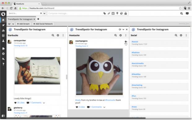 Con el tablero de Hootsuite podrás mejorar tus campañas de Marketing de Influencia en redes sociales