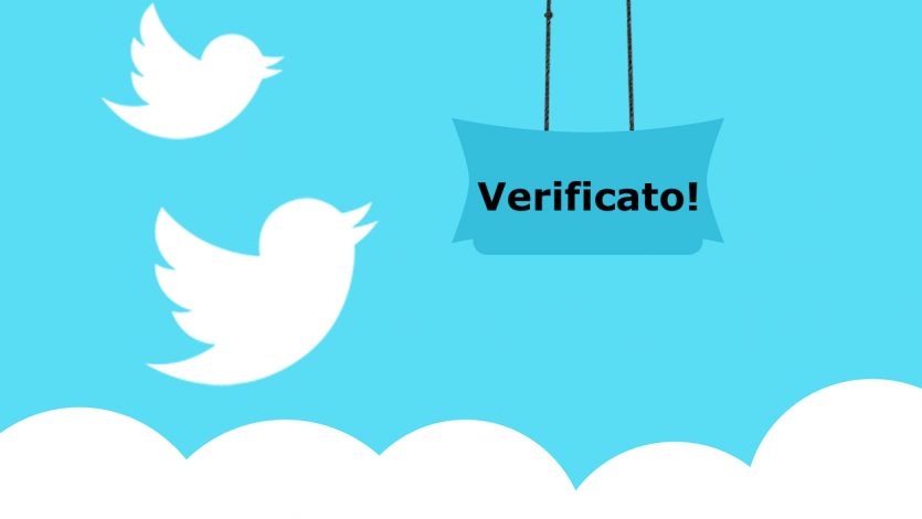 account verificato su twitter