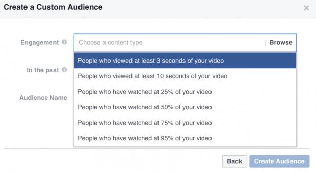 ES: Utiliza las audiencias personalizadas para crear anuncios de Facebook