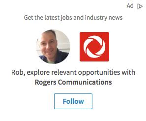 Publicités sur LinkedIn - Dyamic Ads