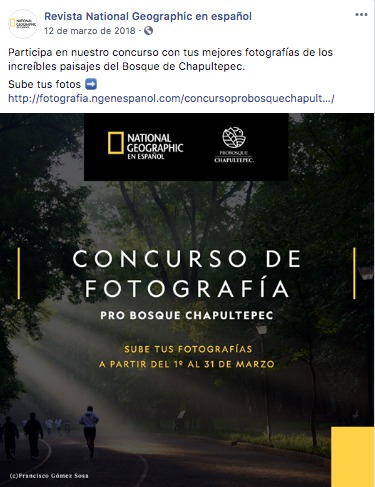 El concurso de national geographic