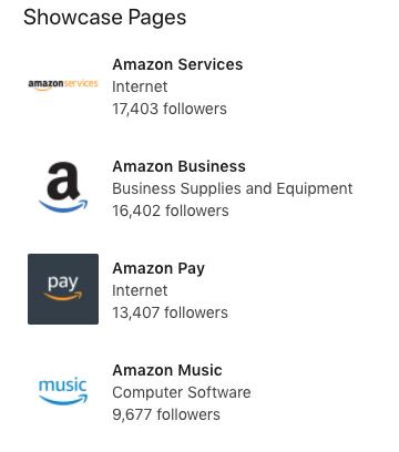 pagina aziendale linkedin