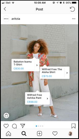 Produkte verkaufen mit Instagram Shopping (und Instagram Shopping