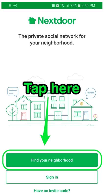 nextdoor app