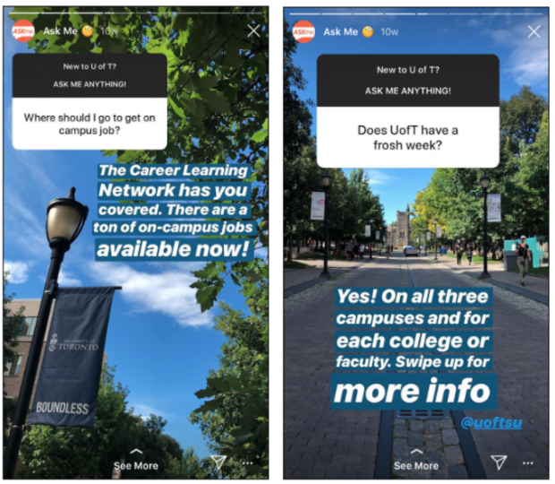 university of toronto instagram stories