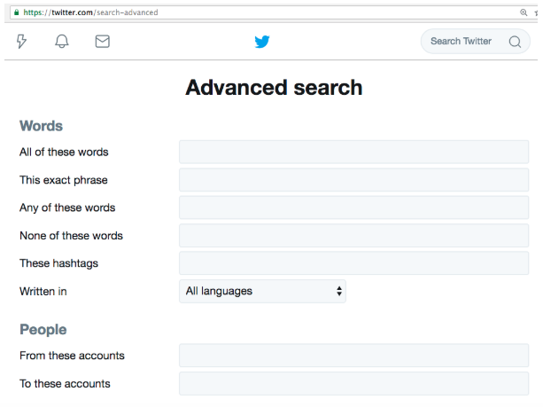 search old tweets twitter advanced search fields