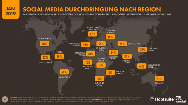 Social Media Statistiken 2019 Deutschland
