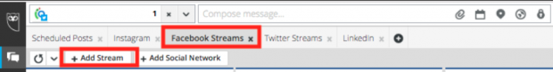 How to set up a listening stream in Hootsuite