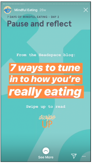 Headspace Instagram poll part 3