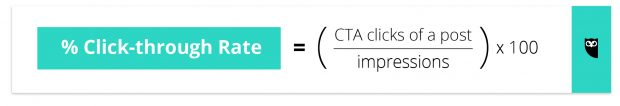 click-through rate formula