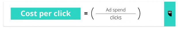 cost per click formula