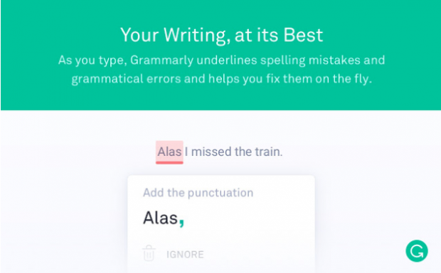 extensions de chrome Grammarly
