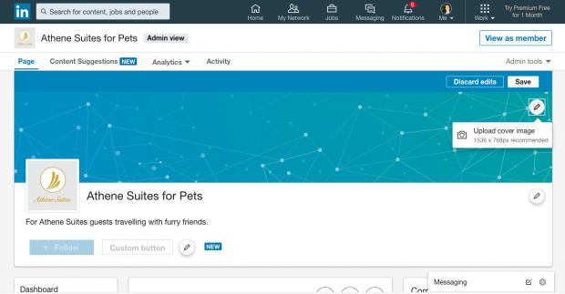 linkedin showcase page header image