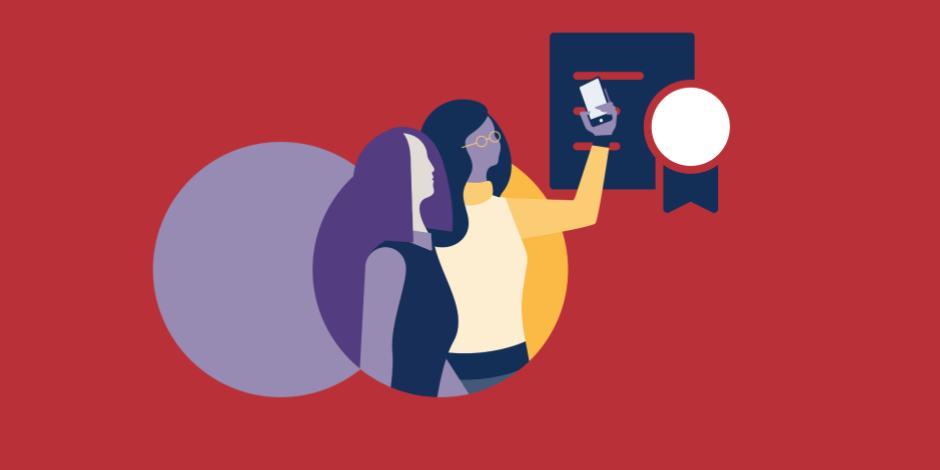 根据社交杂志的广告,显示女性的身份