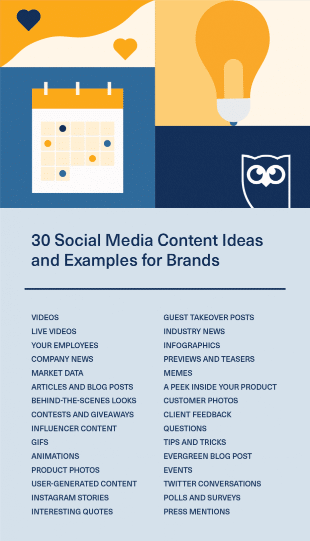 30 Social Media Content Ideas And Examples For Brands