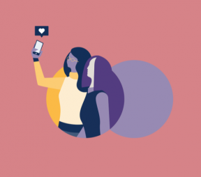 Illustration of two woman taking a selfie