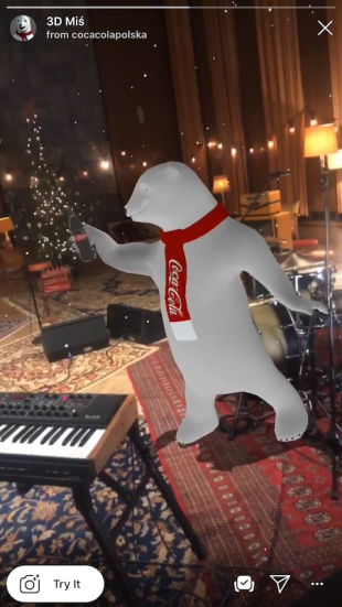 Coca-Cola Polar Bear Christmas