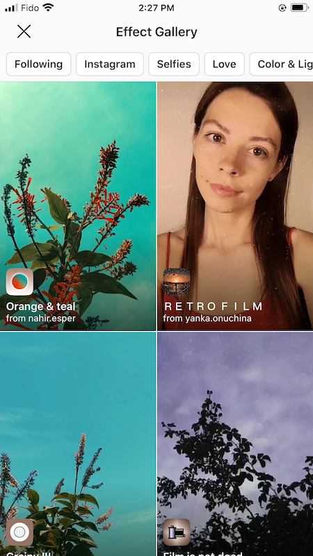 Create Instagram AR Filters