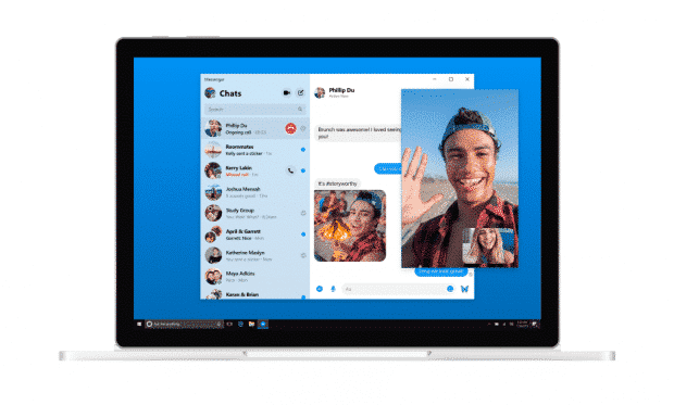 Facebook Messenger on desktop