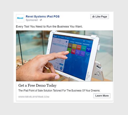 exemples de publicités facebook