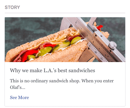 "Published Story ""We we make L. A.'s best sandwiches"""