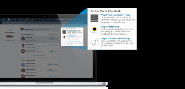 Annonces textuelles LinkedIn
