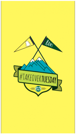 CSU #takeovertuesday Snapchat story