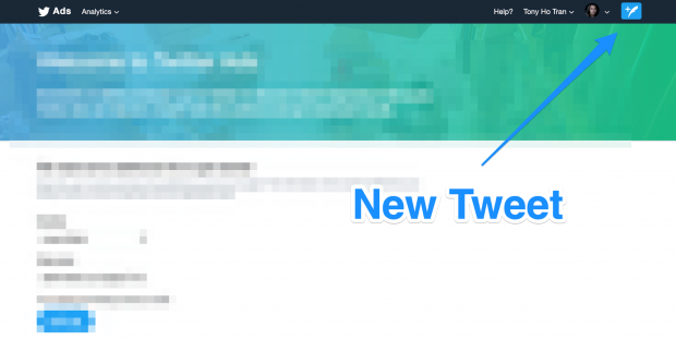 New Tweet button on Twitter desktop