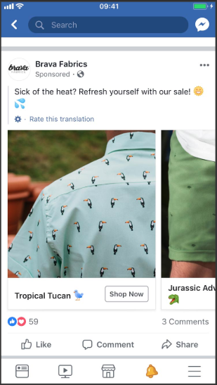 Facebook Pixel dynamic ad