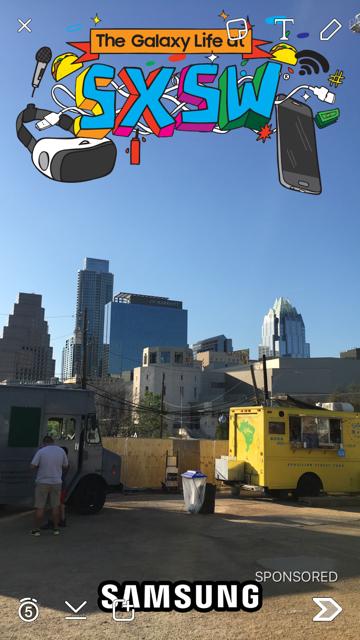 SXSW snapchat