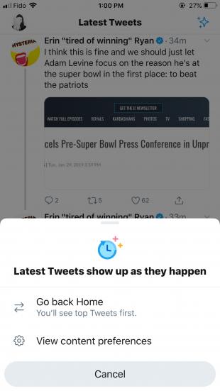 twitter algorithm latest tweets feed