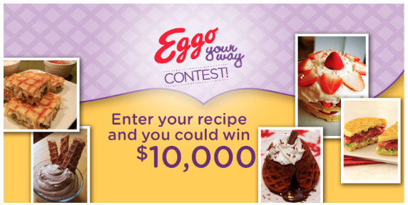 Facebook contest by Eggo