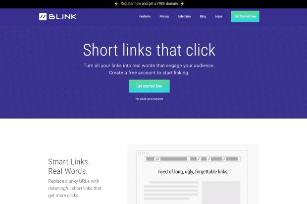 BL.INK link shortener