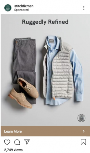 Instagram photo ad by Stitch Fix Mex
