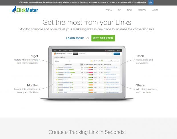 ClickMeter raccourcisseur d'URL