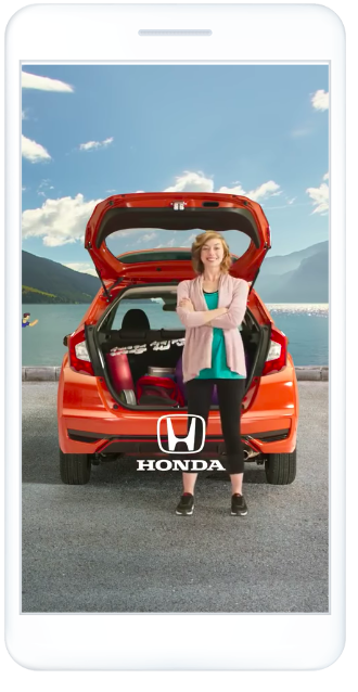 Honda's Facebook Stories ad