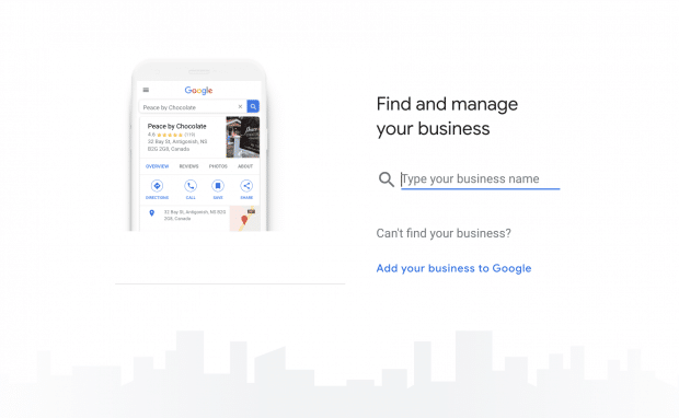 Find your business page on Google
