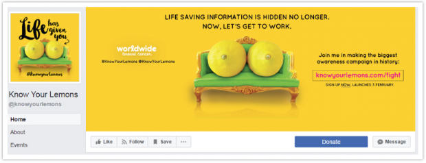 Know Your Lemons campaign - langweilige produkte