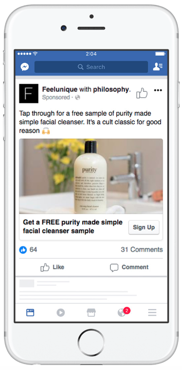 facebook ads Philosophy
