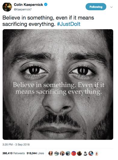 Nike tweet