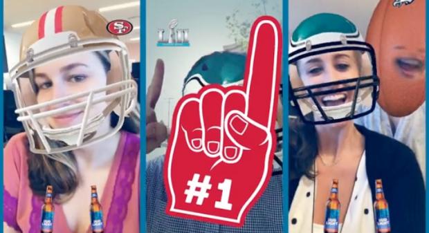 NFL on Snapchat