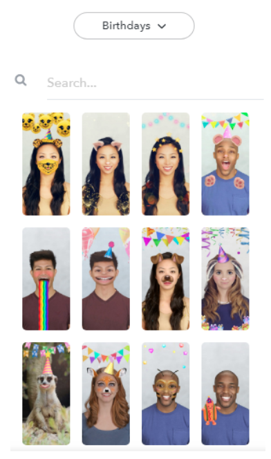 Create Snapchat filter