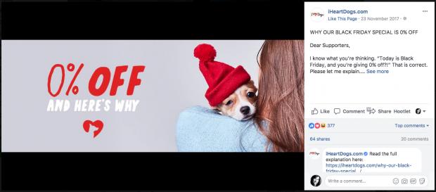 iHeartDogs.com social media campaign